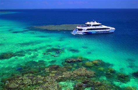 catamaran cruise great barrier reef cairns tours attractions the cairns port douglas