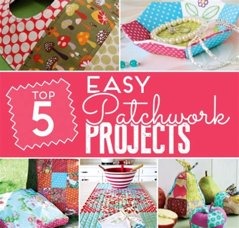 Patchwork Projects For - 5 sew easy patchwork projects sewing sew magazine
