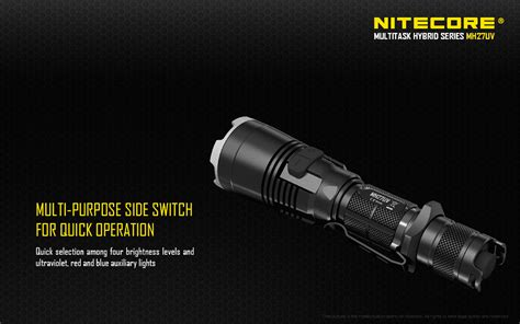 Senter Led Nitecore Mh27uv Ultraviolet Cree Xp L Hi V3 1000 Lumens nitecore mh27uv cree xp l hi v3 led end 9 24 2018 11 30 pm