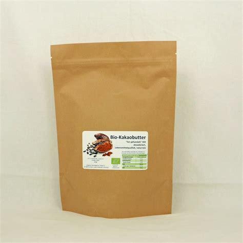 kã che kaufen shop kakaobutter bio 1000 gramm kaufen 16 90