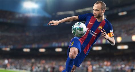 barcelona pes 2018 pes 2018 announced with september release date