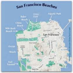 map of california coast of san francisco san francisco beaches