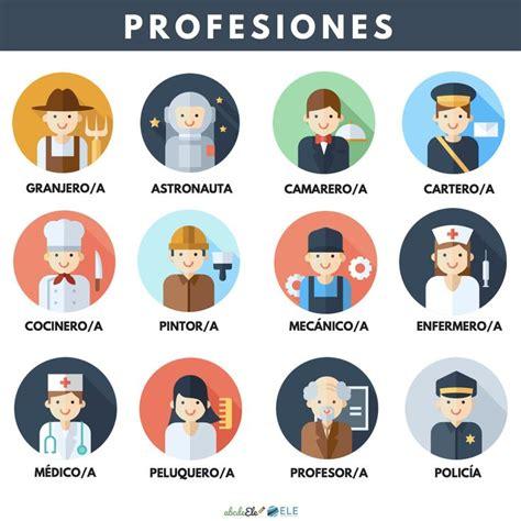 imagenes de profesiones en ingles y español 45 best images about vocabulario profesiones on pinterest