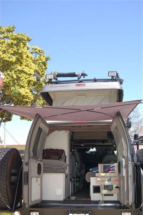 Diy Rear Awning Sportsmobile Forum Adventure Van Pinterest Van Canopies And
