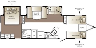outback cers floor plans 2010 keystone rv outback series m 301 bq specs and
