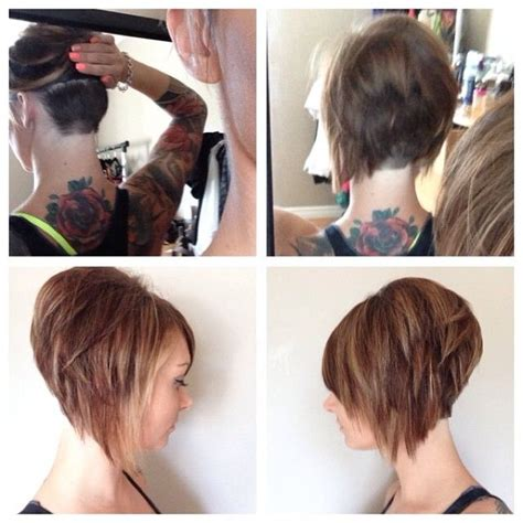bob haircuts shaved underneath 17 best images about high stacked bobs on pinterest head