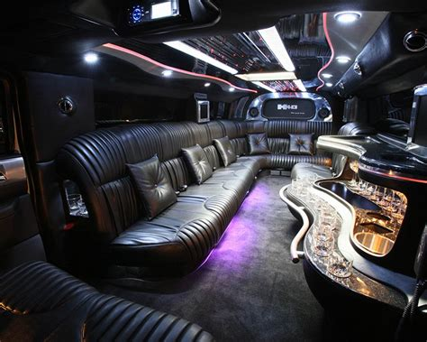 Hummer Limo Interior by Hummer Limousine Direct Transportation Solutions