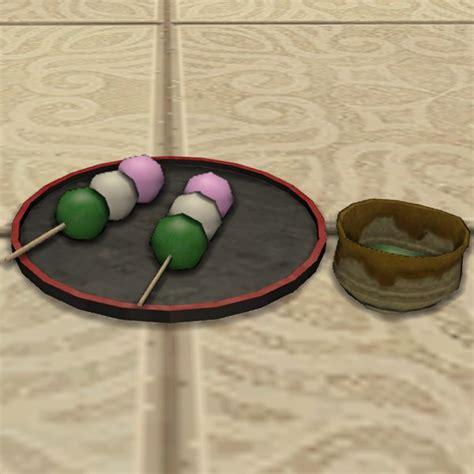 Green Tea Set by Green Tea Set Ffxiv Housing Tabletop