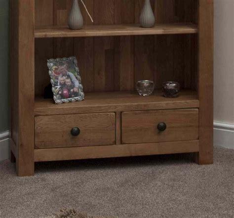Rustic Oak Living Room Furniture Tilson Solid Rustic Oak Living Room Office Furniture Large Bookcase Ebay