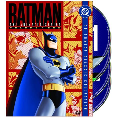 The Series Volume 1 batman the animated series volume one 4 disc set only 20