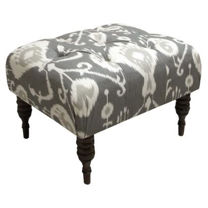 Ikat Storage Ottoman Java Ikat Tufted Ottoman Target 195 49 Would Potentially Put 1 Or 2 Of These At The End Of