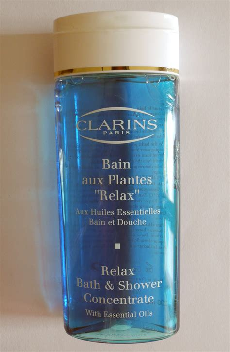 clarins relax bath and shower concentrate clarins relax bath shower concentrate review and photos makeup4all