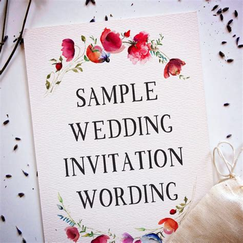 Words Put Wedding Invitations by 15 Wedding Invitation Wording Sles From Traditional To