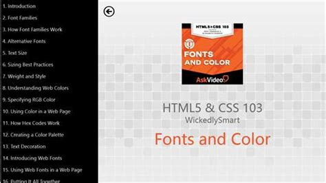 html5 typography html5 css fonts and color for windows 10 pc free