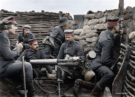 imagenes historicas de la primera guerra mundial la primera guerra mundial a todo color fotos