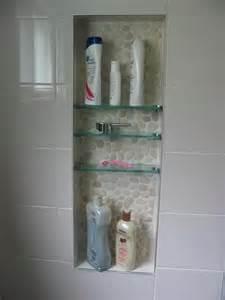 glass shelf for shower niche bathroom idea for the home
