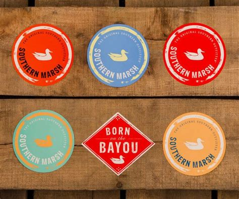 Southern Marsh Free Stickers
