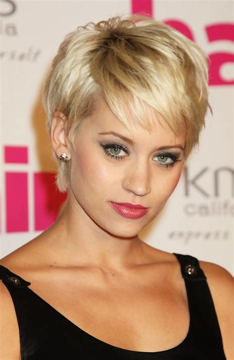 short away from the face hairstyles kimberly wyatt photos photos hair magazine awards 2009