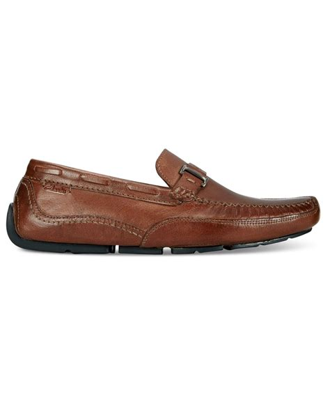 clarks loafers for clarks clark s s ashmont bit slip on loafers in brown