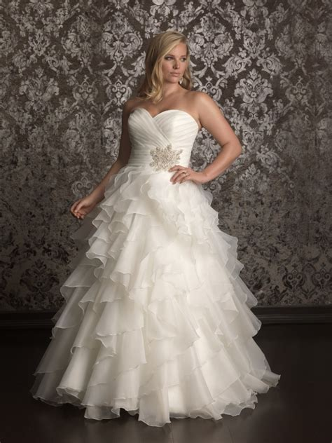 pls size wedding dresses 20 affordable plus size wedding dresses for 2016