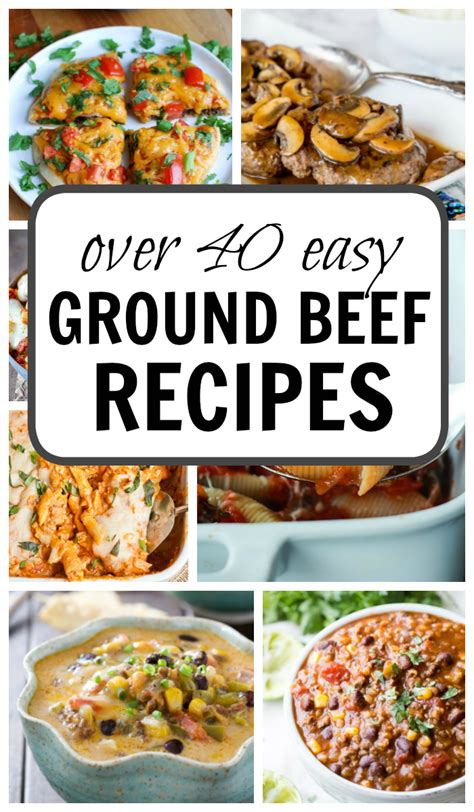 easy ground beef recipes over 40 this gal cooks