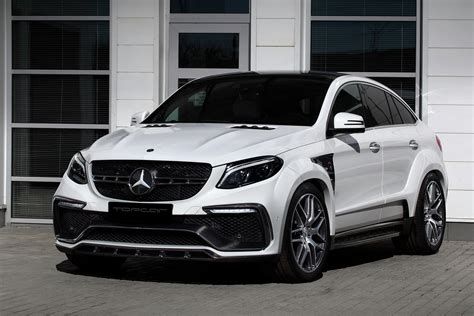 mercedes white white mercedes gle coupe 63s with topcar inferno kit has