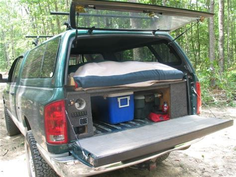 truck bed cing ideas cool truck bed ideas cast and blast montana tacoma