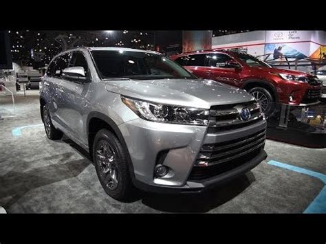 2019 toyota highlander changes, exterior and interior new