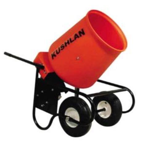kushlan wsb 3 4 hp electric concrete mixer 350wsb 125350