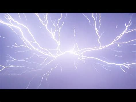the ultimate lightning storm in slow motion youtube