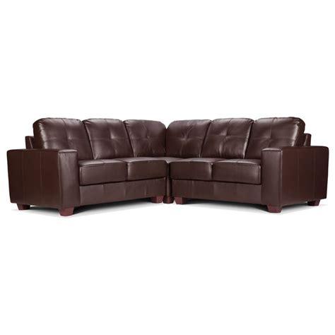Leather Corner Aaron Leather Corner Sofa