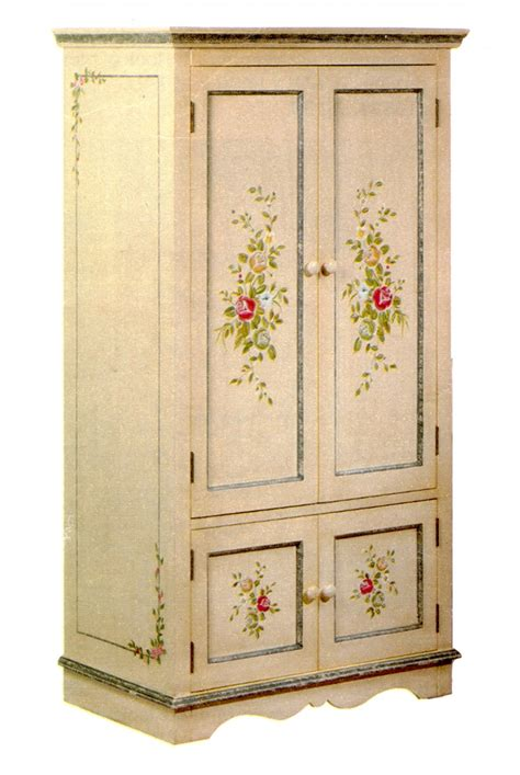 armoire media cabinet hand painted armoire media cabinet stuff i want to make