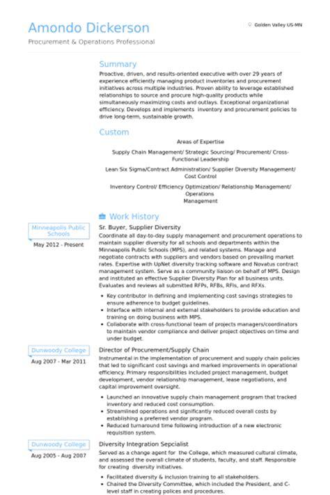 acheteur exemple de cv base de donn 233 es des cv de visualcv