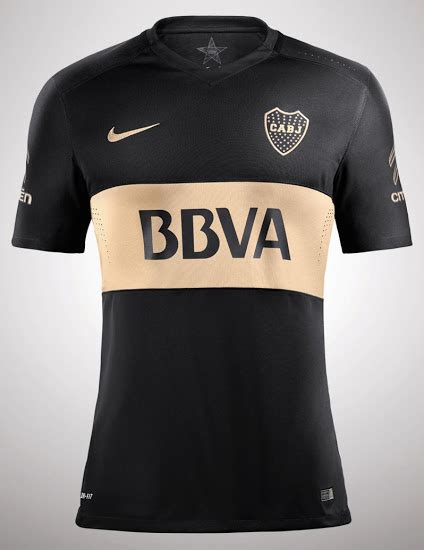 boca juniors 2016 home kit released footy headlines black boca juniors 2016 third kit released footy headlines