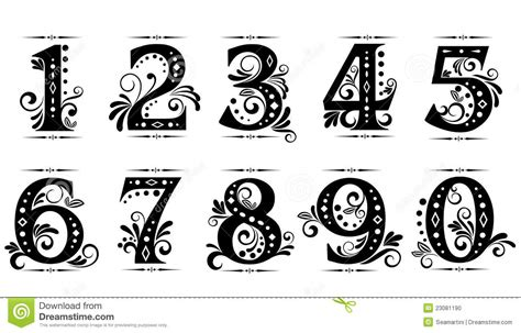 fancy printable numbers 1 10 13 for fonts fancy number 100 images fancy number fonts