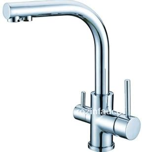 kitchen faucet with built in water filter chrome finish single kitchen faucet water filter
