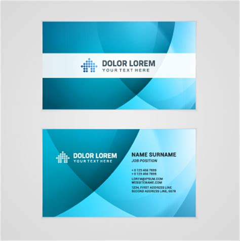 Company Business Cards Templates template company business cards set vector 07 vector