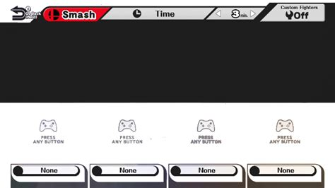 Character Select Template By Mrgamermann458 On Deviantart Smash Bros New Character Template