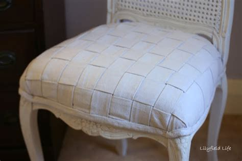 Upholstery Tutorial Chair - lilyfield diy woven upholstery tutorial on a