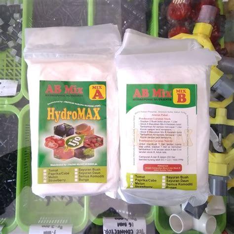 Nutrisi Hidroponik Ab Mix Cair jual nutrisi hidroponik ab mix hydromax melon 475 gram