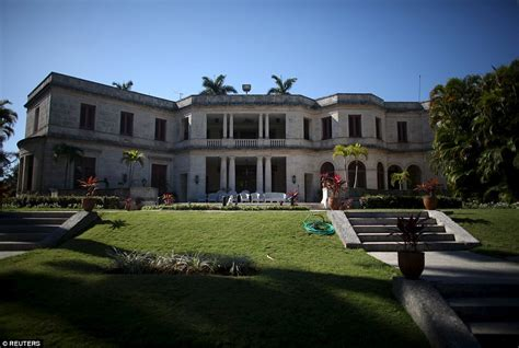 obama residence u s mansion where obama to stay in havana built to