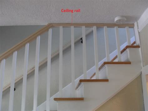 need help with a stair railing doityourself