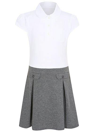 Cgd 2in1 Grey Dress school 2 in 1 jersey dress grey school george at asda