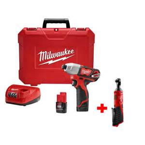 home depot milwaukee m12 1 4 in hex impact driver 3 8