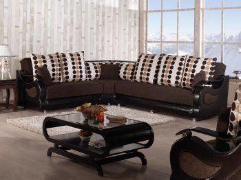 richmond fabric sectional reviews richmond sectional sofa convertible in brown
