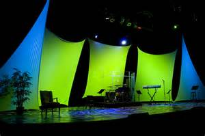 Outdoor Lighting Setup - 2008 pure series stage design flickr photo sharing