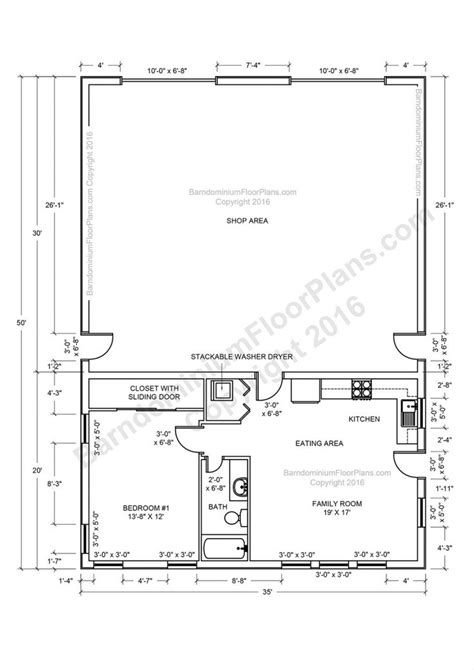 pole barn with apartment floor plans apartments barndominium floor plans pole barn house and