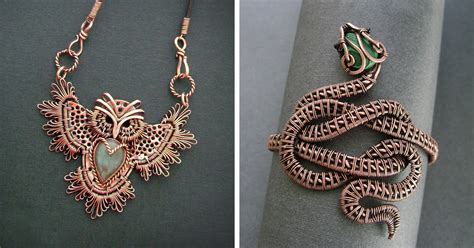 jewelry wire wrapping self taught russian artist makes amazing wire wrap jewelry