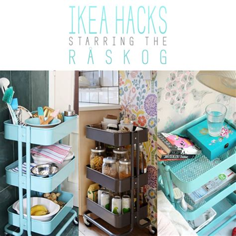 raskog cart hacks ikea hacks starring the r 229 skog the cottage market