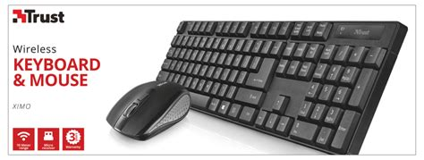 Keyboard Mouse Genius Slistar C130 Usb trust wireless keyboard mouse ximo high voltage
